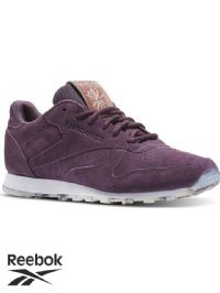 Women's Reebok Classic Leather SHMR Trainers (BD1520) (Option 2) x4: £18.95